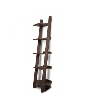 Ladder Bookshelf Climb - canaletto finish